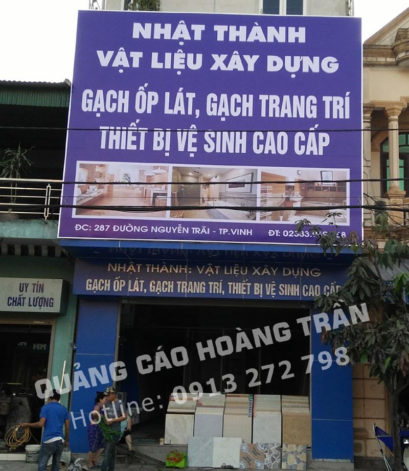 Mẫu biển quảng cáo cửa hàng đẹp